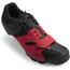 Giro Cylinder schoenen Heren rood/zwart